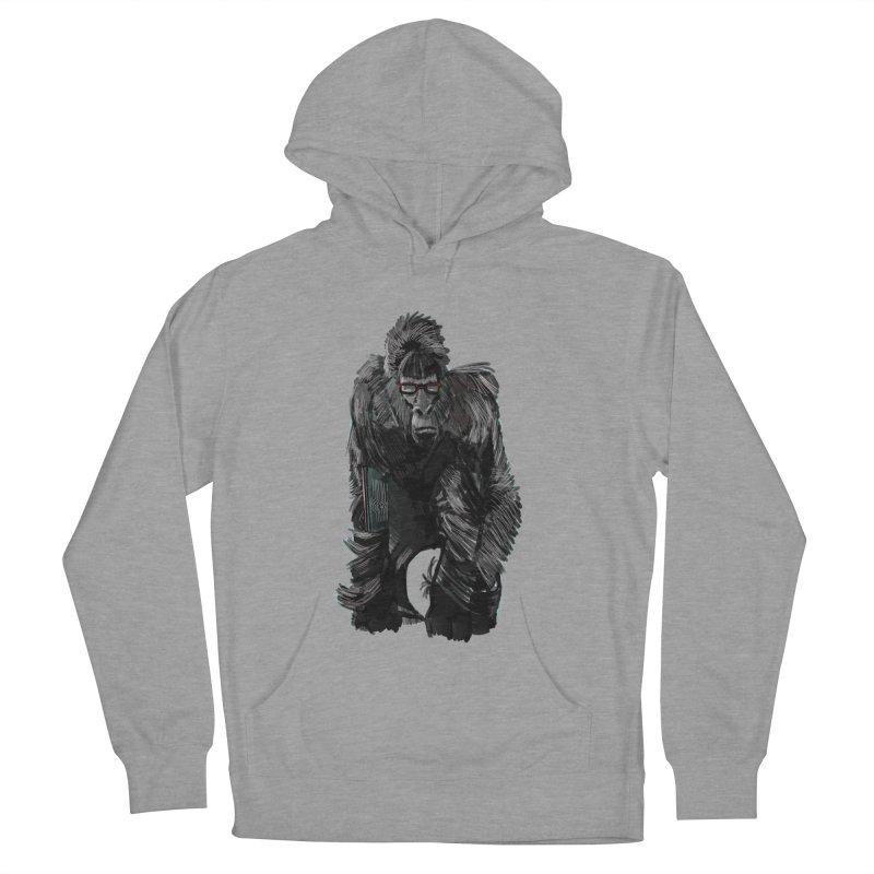 Wayfaring gorilla Women's Pullover Hoody by odiolitos's Artist Shop