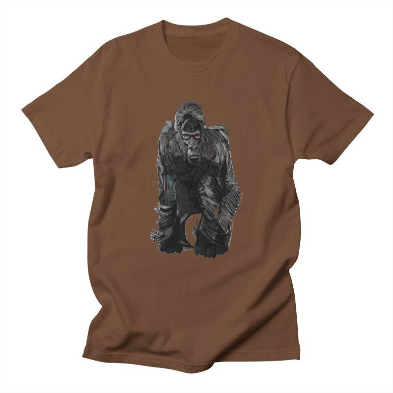 Wayfaring gorilla Men's T-Shirt by odiolitos's Artist Shop