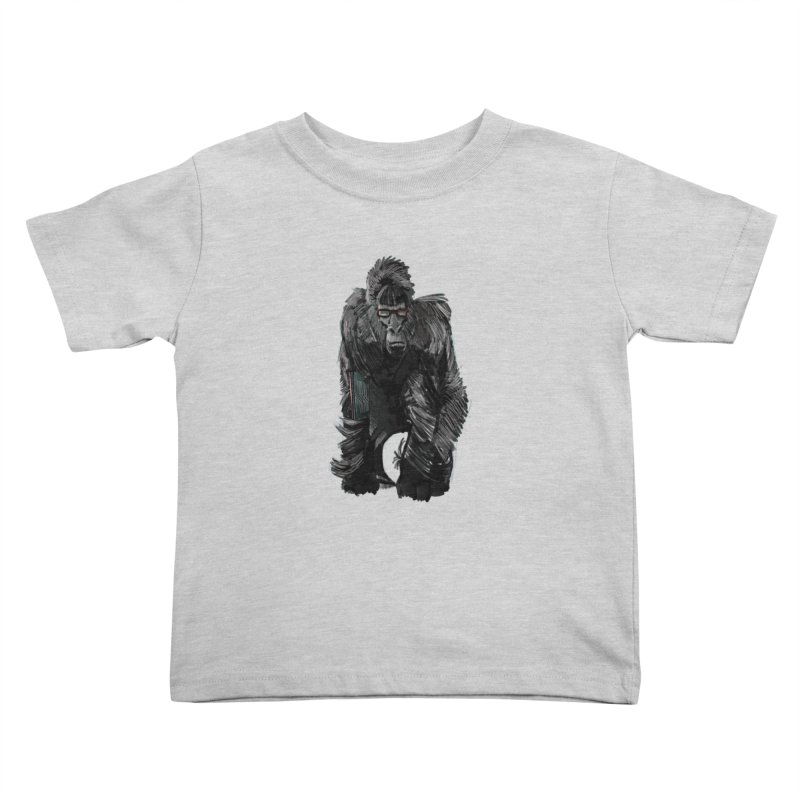 Wayfaring gorilla Kids Toddler T-Shirt by odiolitos's Artist Shop