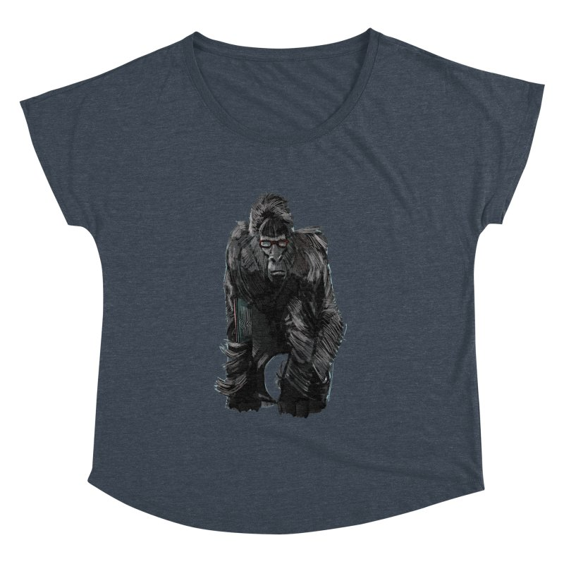 Wayfaring gorilla Women's Dolman by odiolitos's Artist Shop