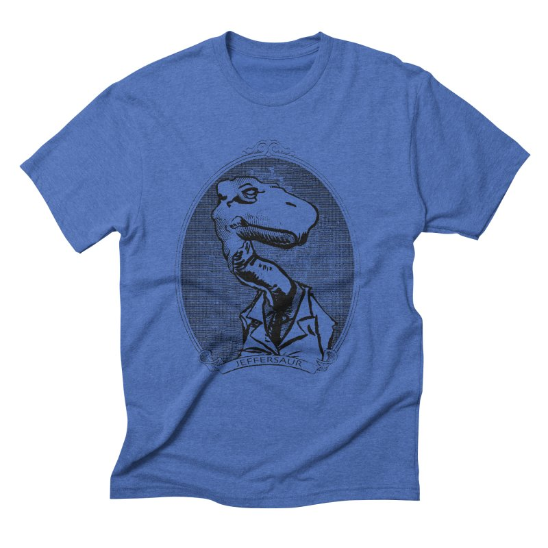 Jeffersaur Men's Triblend T-Shirt by odiolitos's Artist Shop