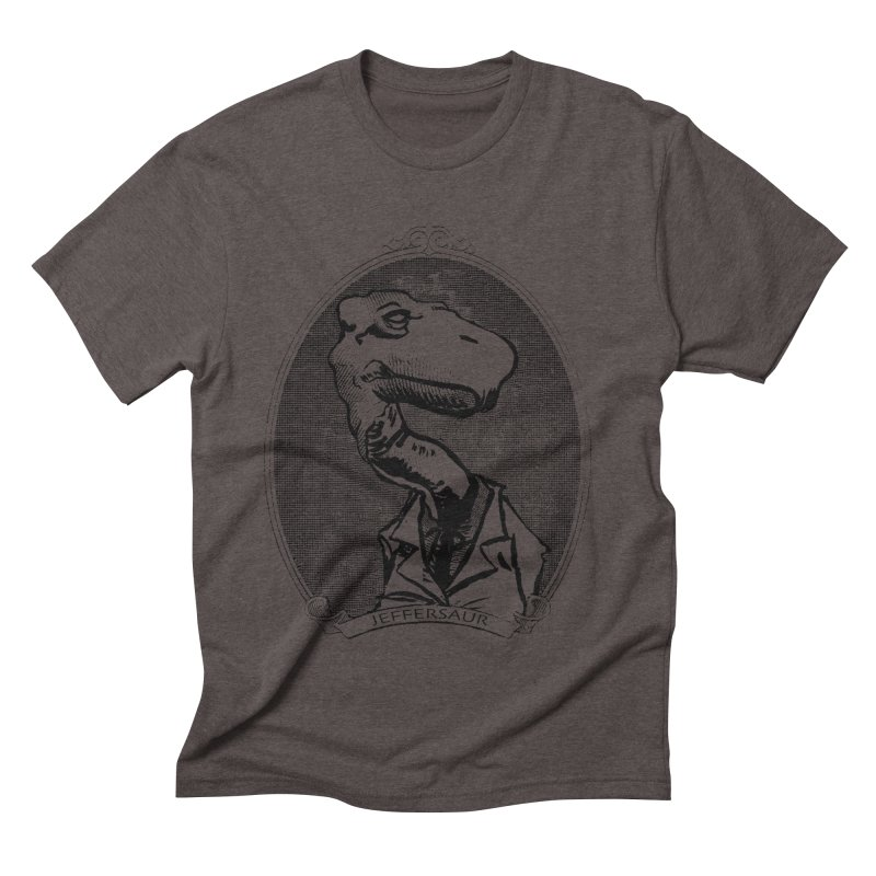 Jeffersaur Men's Triblend T-shirt by odiolitos's Artist Shop