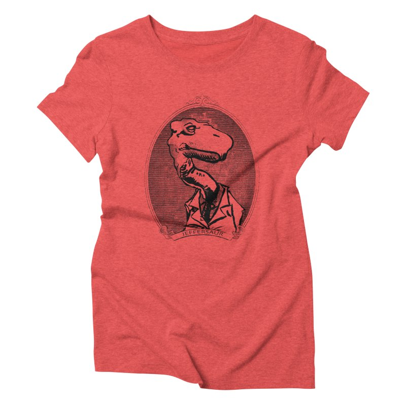 Jeffersaur Women's Triblend T-Shirt by odiolitos's Artist Shop