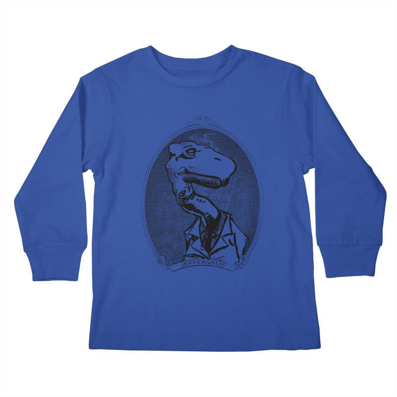 Jeffersaur Kids Longsleeve T-Shirt by odiolitos's Artist Shop