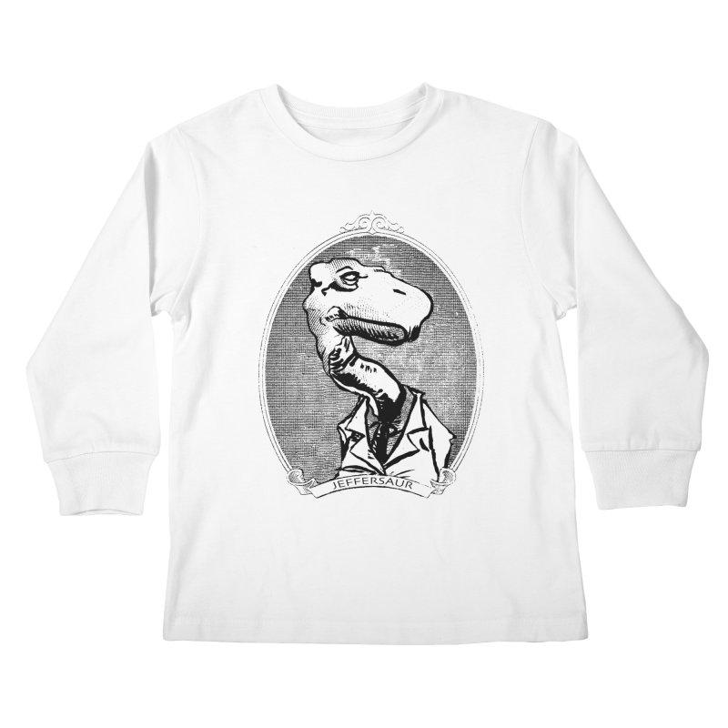 Jeffersaur Kids Longsleeve T-Shirt by odiolitos's Artist Shop