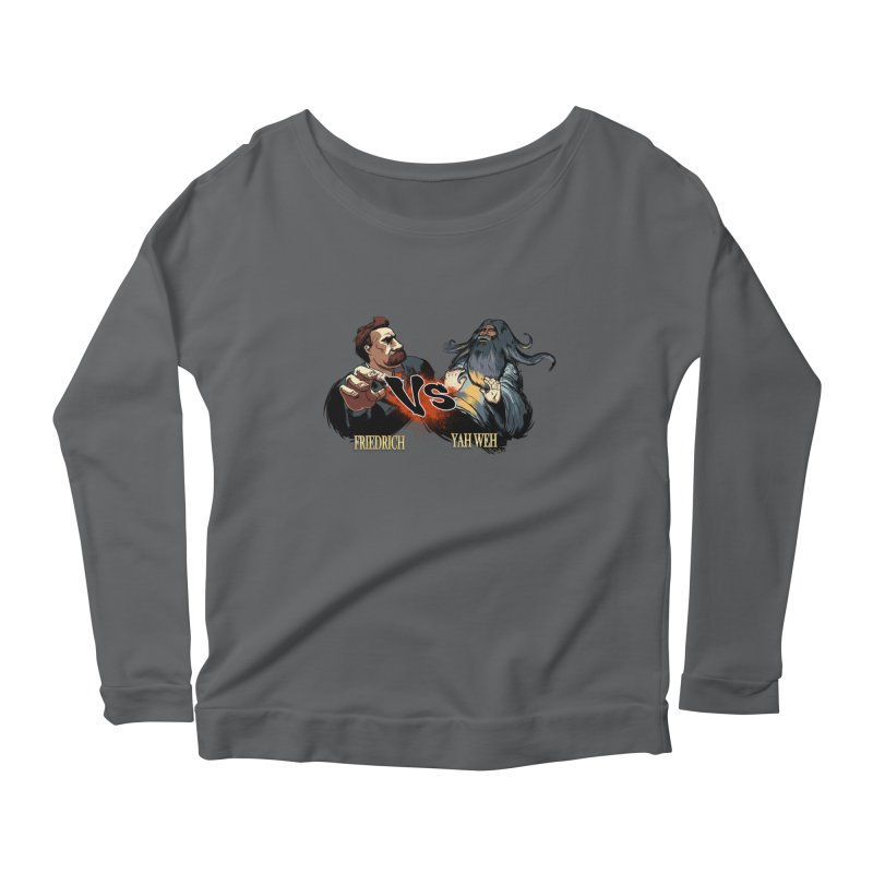 Super Creed Fighter Women's Longsleeve Scoopneck  by odiolitos's Artist Shop