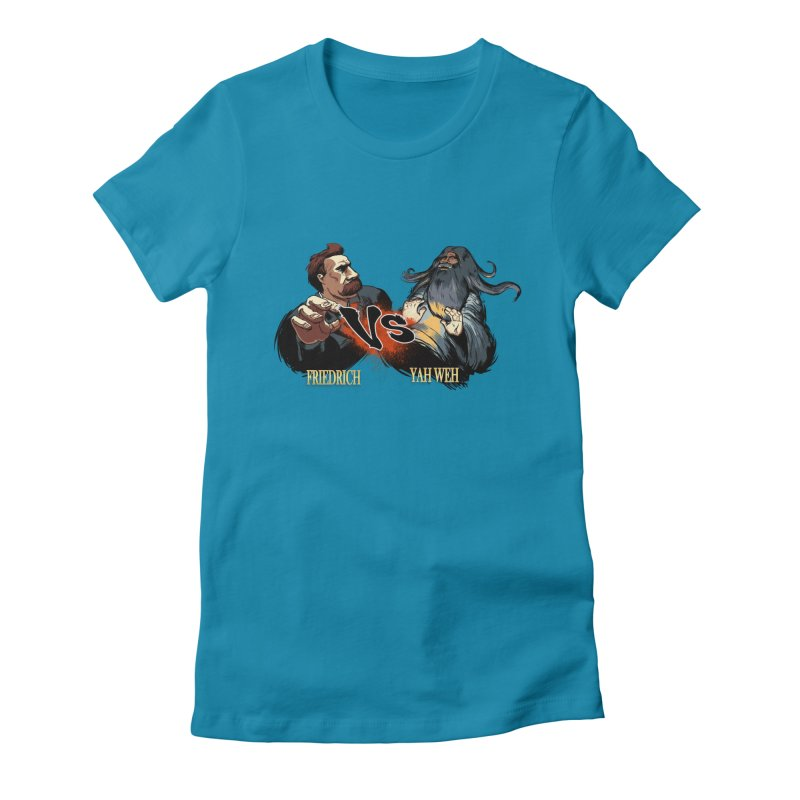 Super Creed Fighter Women's Fitted T-Shirt by odiolitos's Artist Shop