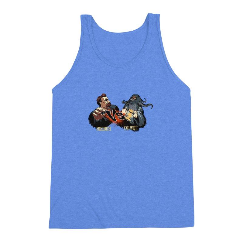 Super Creed Fighter Men's Triblend Tank by odiolitos's Artist Shop