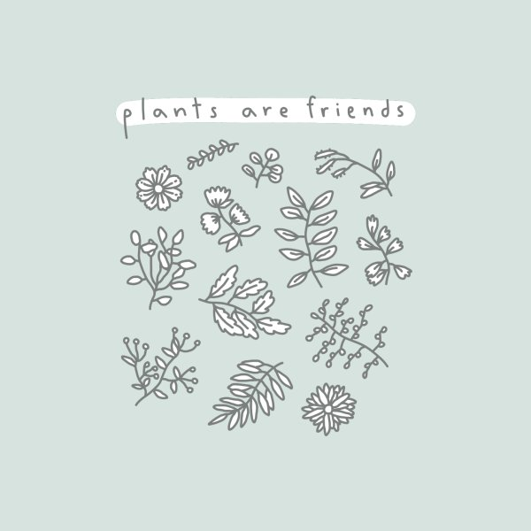 image for plants are friends