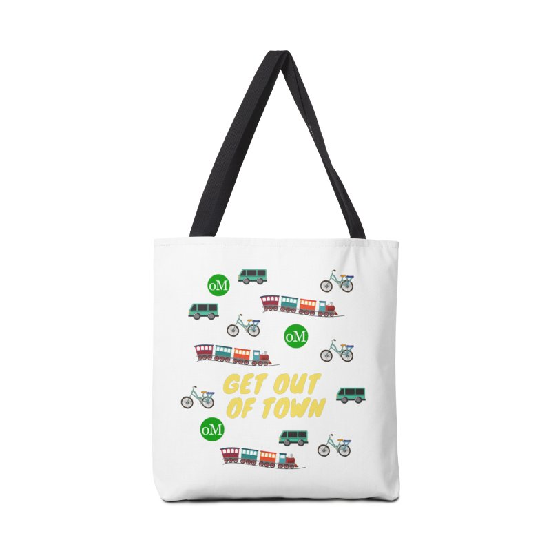 Get Out of Town Accessories Bag by offMetro's Artist Shop