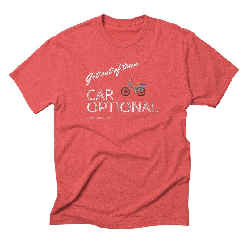 Car? Optional! Men's Triblend T-Shirt by offMetro's Artist Shop