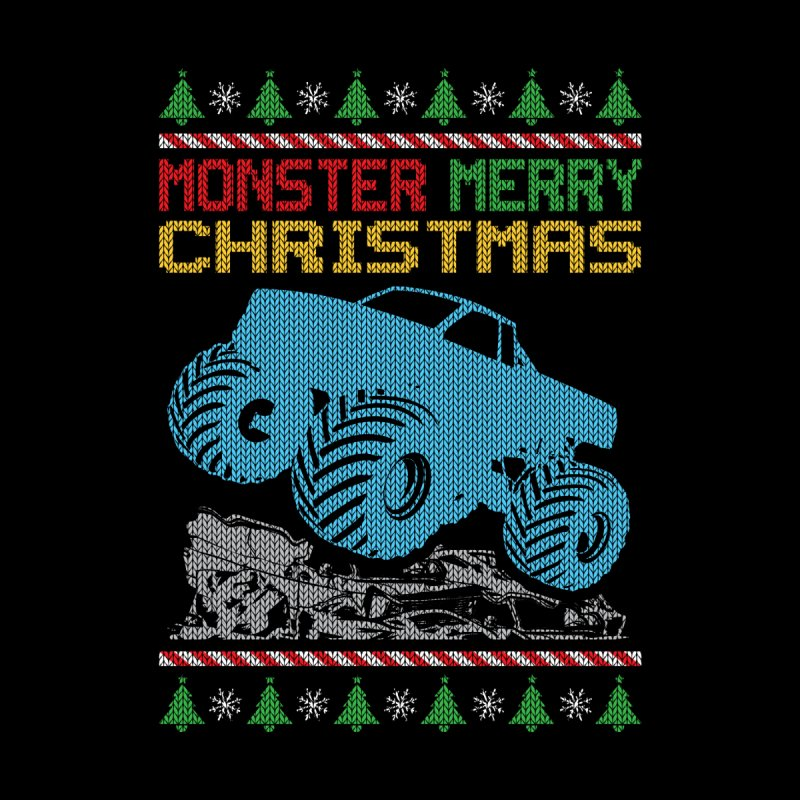 MONSTER TRUCK CRUSHIER Men's T-Shirt by Off-Road Styles