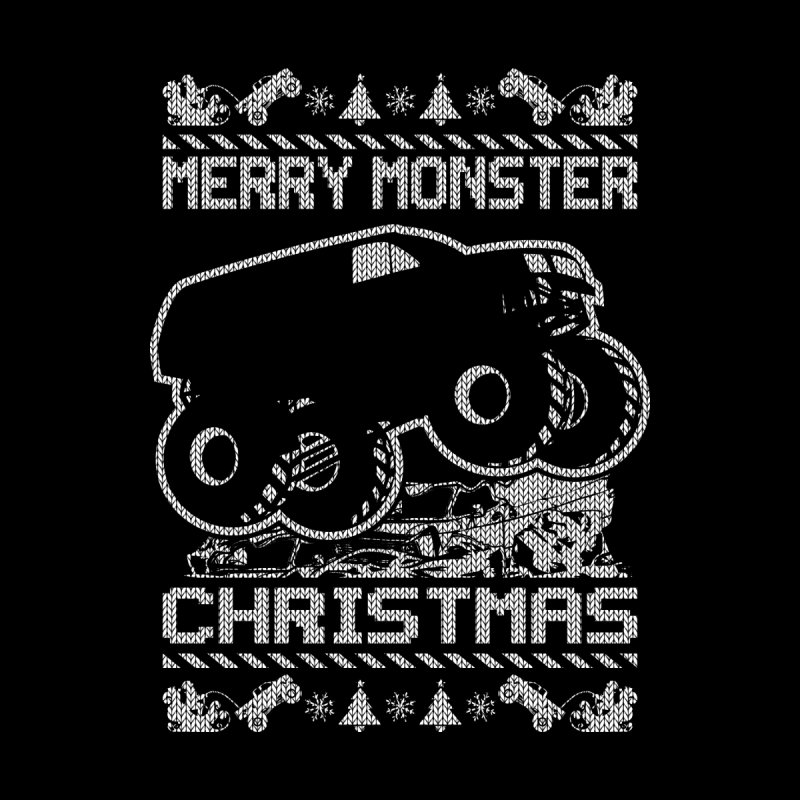 MONSTER CHRISTMAS TRUCK MASTER Men's T-Shirt by Off-Road Styles