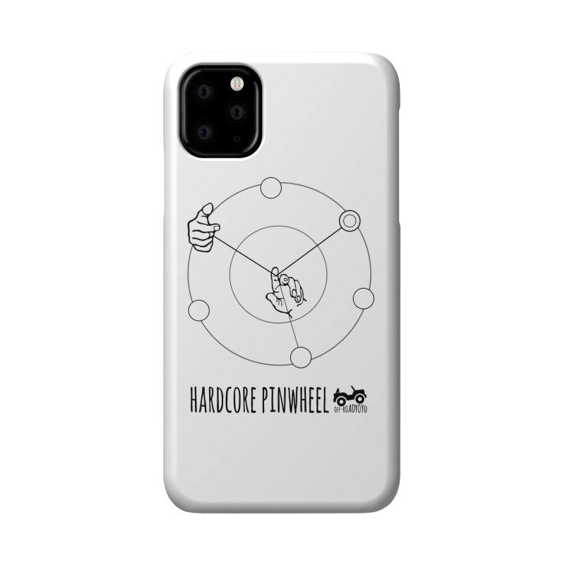 Hardcore Pinwheel, black Accessories Phone Case by OFF-ROAD YOYO