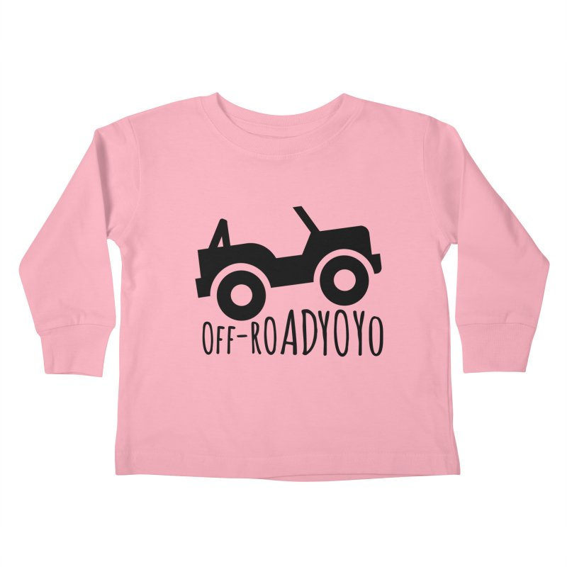 OFF-ROAD YOYO Logo, black Kids Toddler Longsleeve T-Shirt by OFF-ROAD YOYO