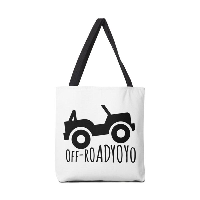 OFF-ROAD YOYO Logo, black Accessories Tote Bag Bag by OFF-ROAD YOYO