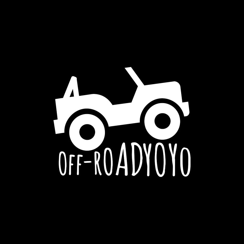 OFF-ROAD YOYO Logo, white Men's Longsleeve T-Shirt by OFF-ROAD YOYO