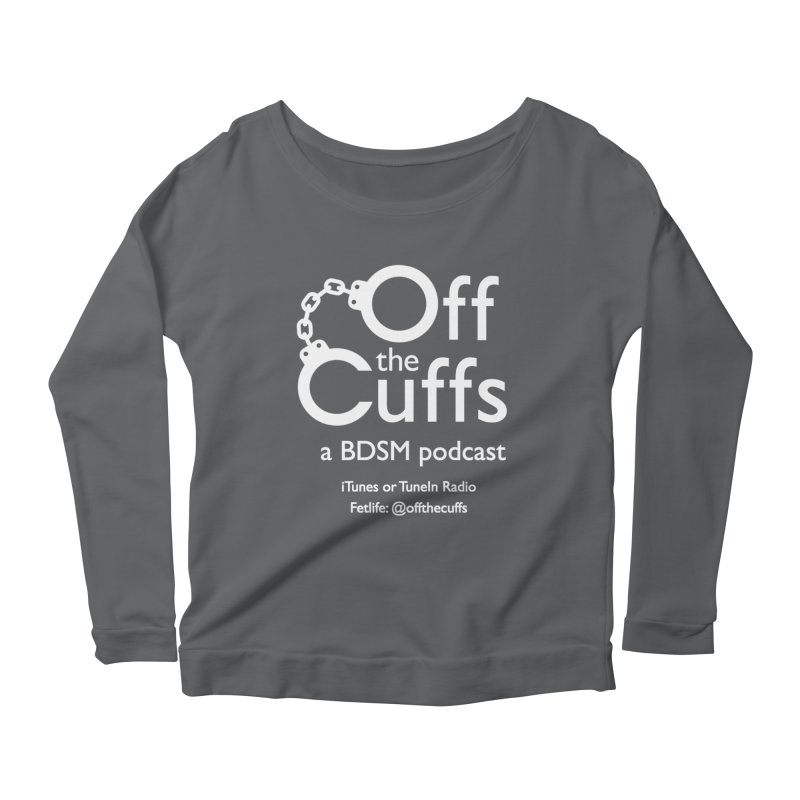 Off the Cuffs Podcast Women's Scoop Neck Longsleeve T-Shirt by offthecuffs's Artist Shop