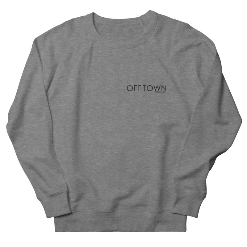 OFF TOWN LOGO BLACK mini Men's Sweatshirt by OFF TOWN MAGAZINE