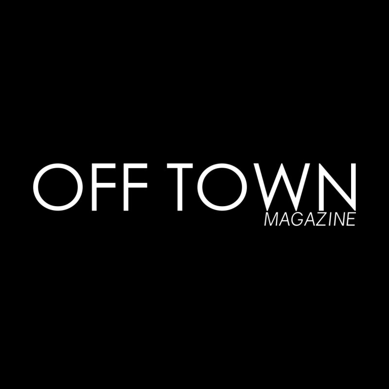 OFF TOWN LOGO WHITE Accessories Skateboard by OFF TOWN MAGAZINE