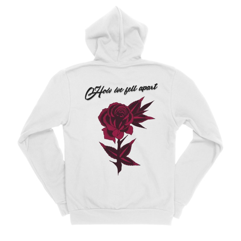 How We Fell Apart Collection Men's Zip-Up Hoody by Of Heart - Official Merch