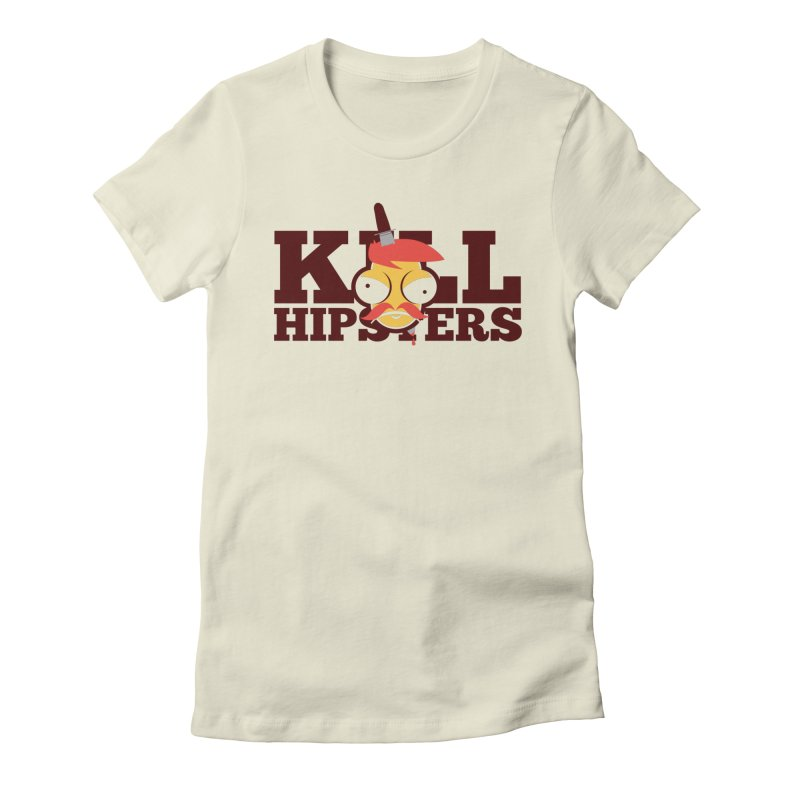 Hipsta Killa Women's Fitted T-Shirt by OFU Invasion