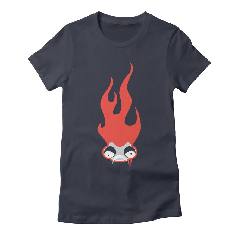 Is Something Burning Women's Fitted T-Shirt by OFU Invasion