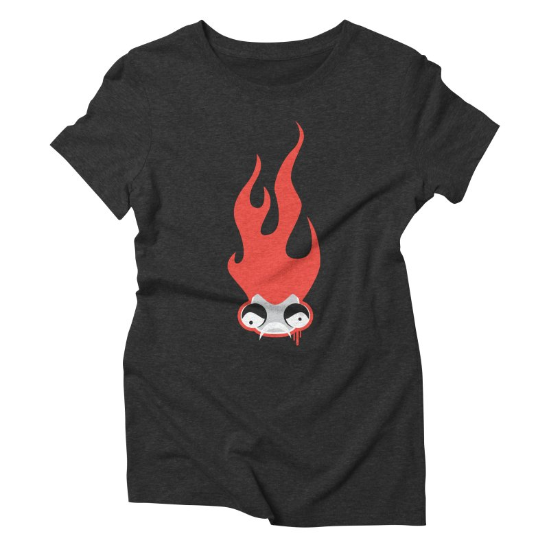 Is Something Burning Women's Triblend T-shirt by OFU Invasion