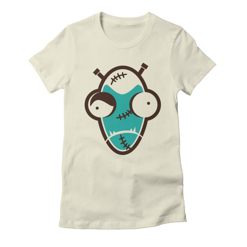 Ofu Stein Women's Fitted T-Shirt by OFU Invasion