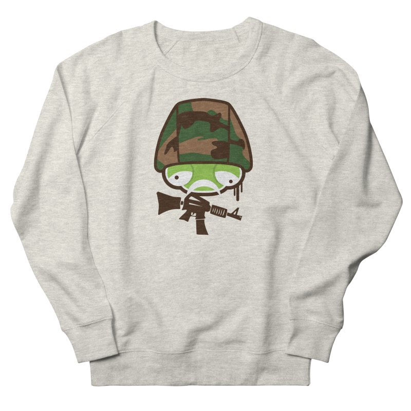 Make War Not Love Men's Sweatshirt by OFU Invasion