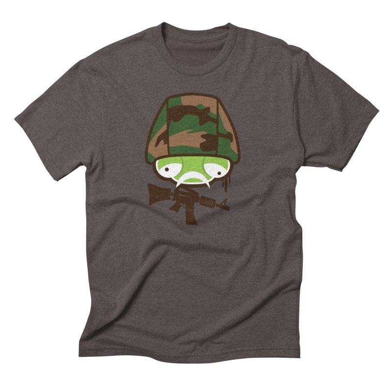 Make War Not Love Men's Triblend T-Shirt by OFU Invasion