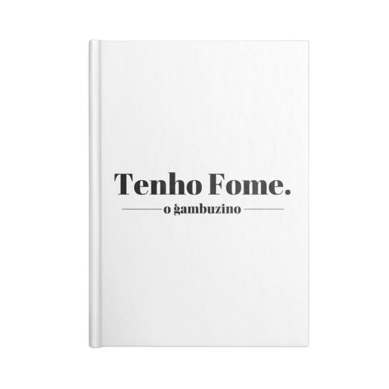 Simply Hungry Accessories Notebook by O Gambuzino