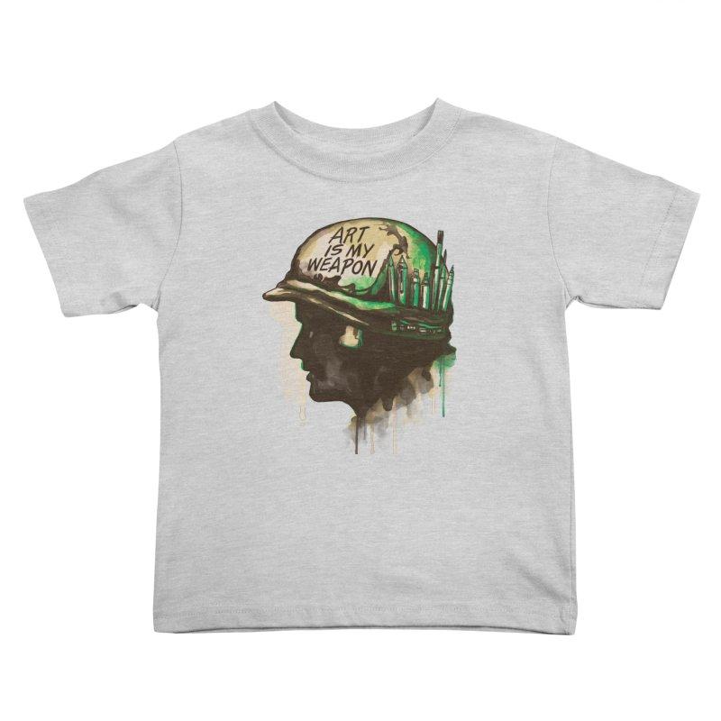 ART OF WAR Kids Toddler T-Shirt by RGRLV