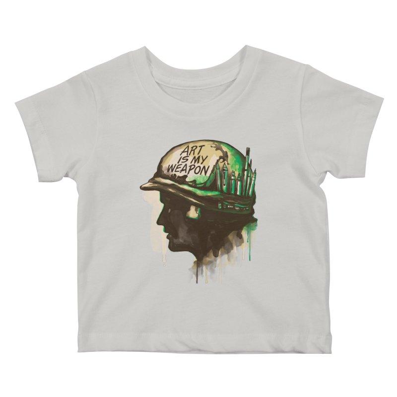 ART OF WAR Kids Baby T-Shirt by RGRLV