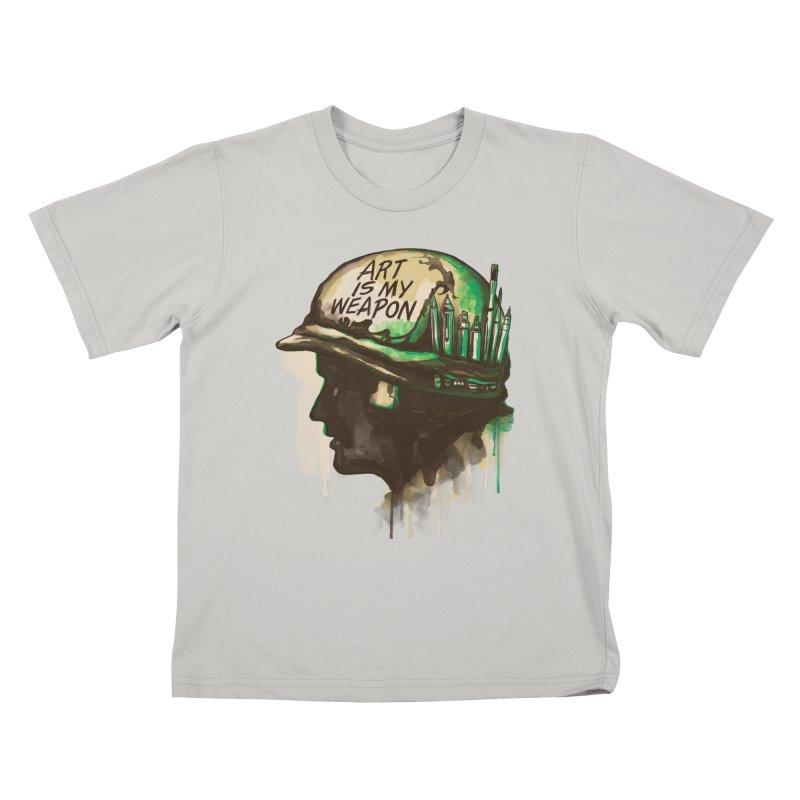 ART OF WAR Kids T-Shirt by RGRLV