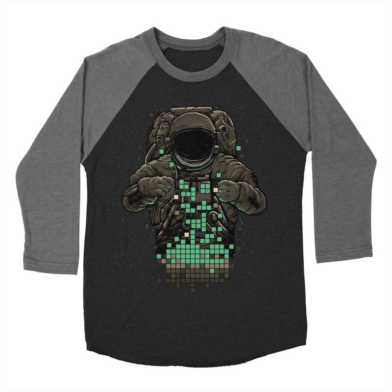 COSMIC TETRIS Men's Baseball Triblend T-Shirt by RGRLV