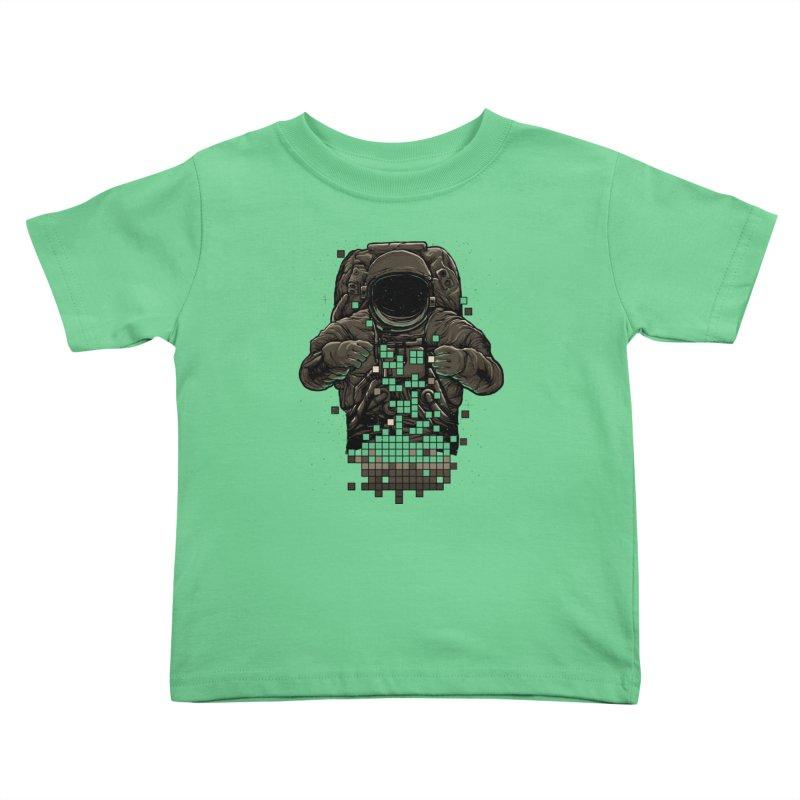 COSMIC TETRIS Kids Toddler T-Shirt by RGRLV