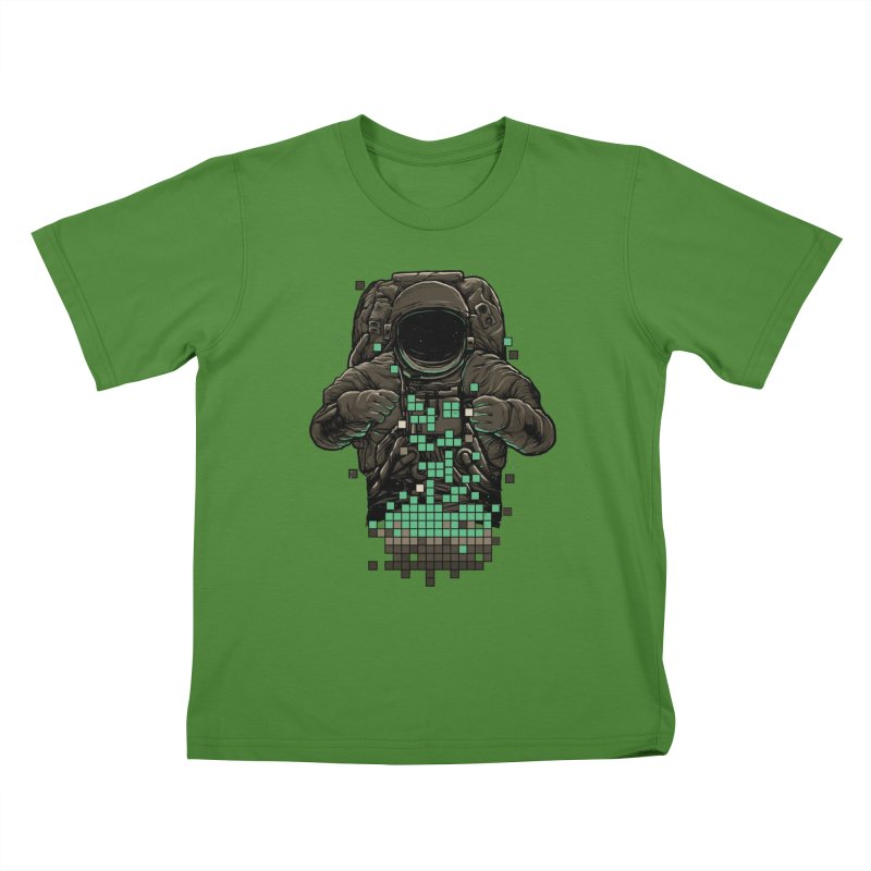 COSMIC TETRIS Kids T-shirt by RGRLV