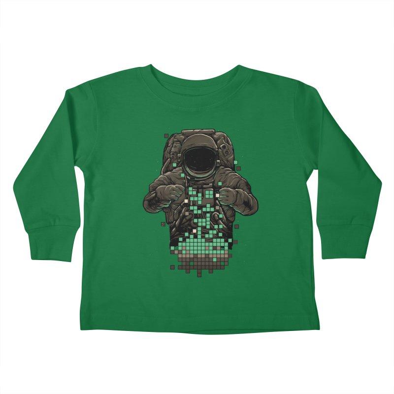 COSMIC TETRIS Kids Toddler Longsleeve T-Shirt by RGRLV