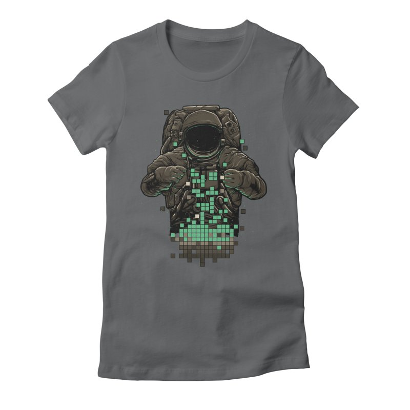 COSMIC TETRIS Women's Fitted T-Shirt by RGRLV