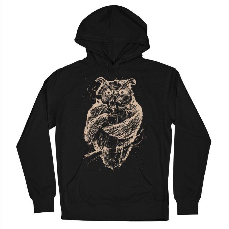 JAVA OWL Men's Pullover Hoody by RGRLV