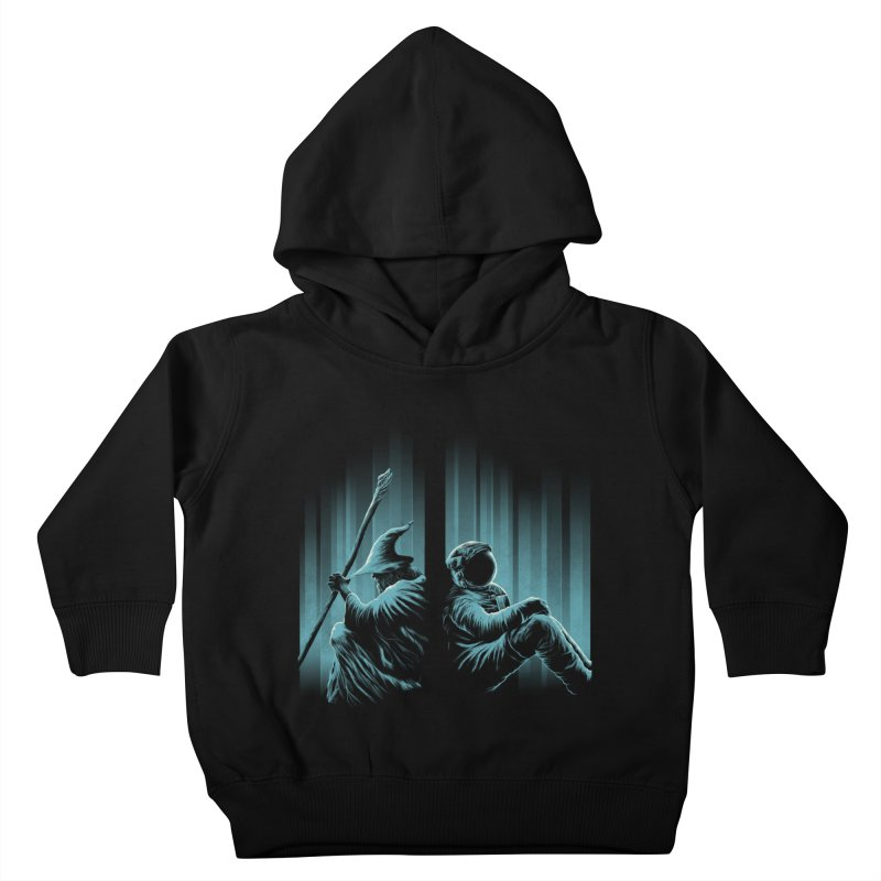 WHERE IS THE MIDDLE EARTH? Kids Toddler Pullover Hoody by RGRLV