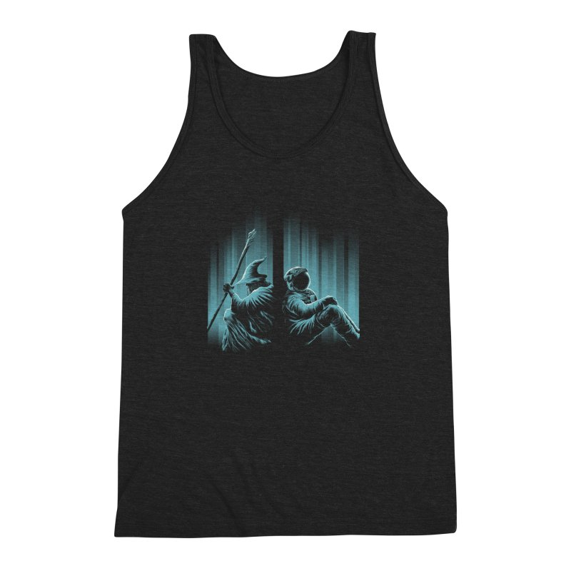 WHERE IS THE MIDDLE EARTH? Men's Triblend Tank by RGRLV