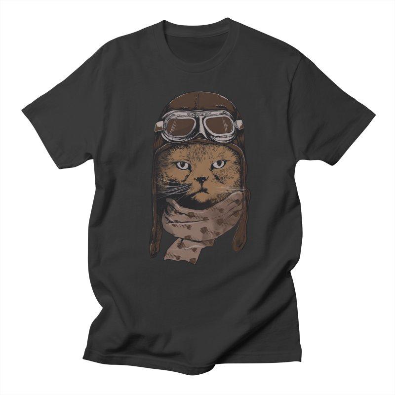 AEROCAT Men's T-shirt by RGRLV