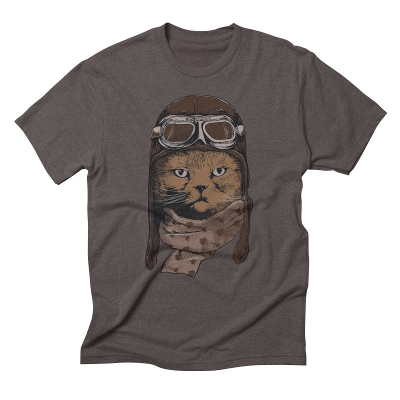 AEROCAT Men's Triblend T-shirt by RGRLV