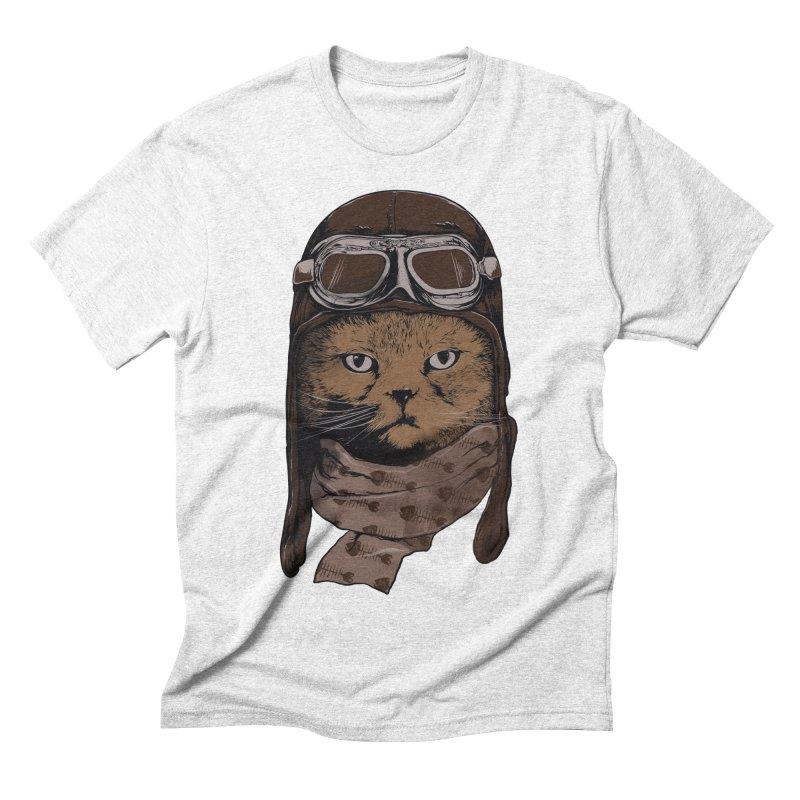 AEROCAT Men's Triblend T-shirt by RGRLV