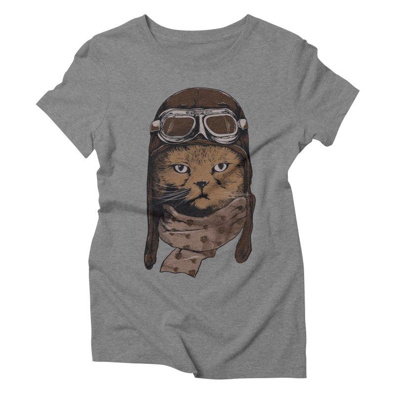 AEROCAT Women's Triblend T-shirt by RGRLV