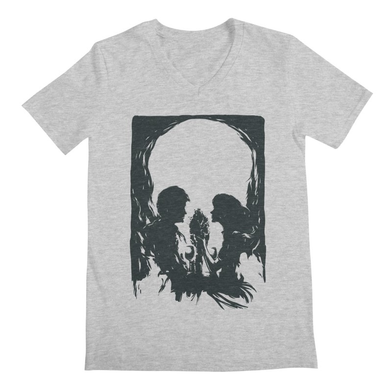'TIL DEATH DO US PART Men's V-Neck by RGRLV