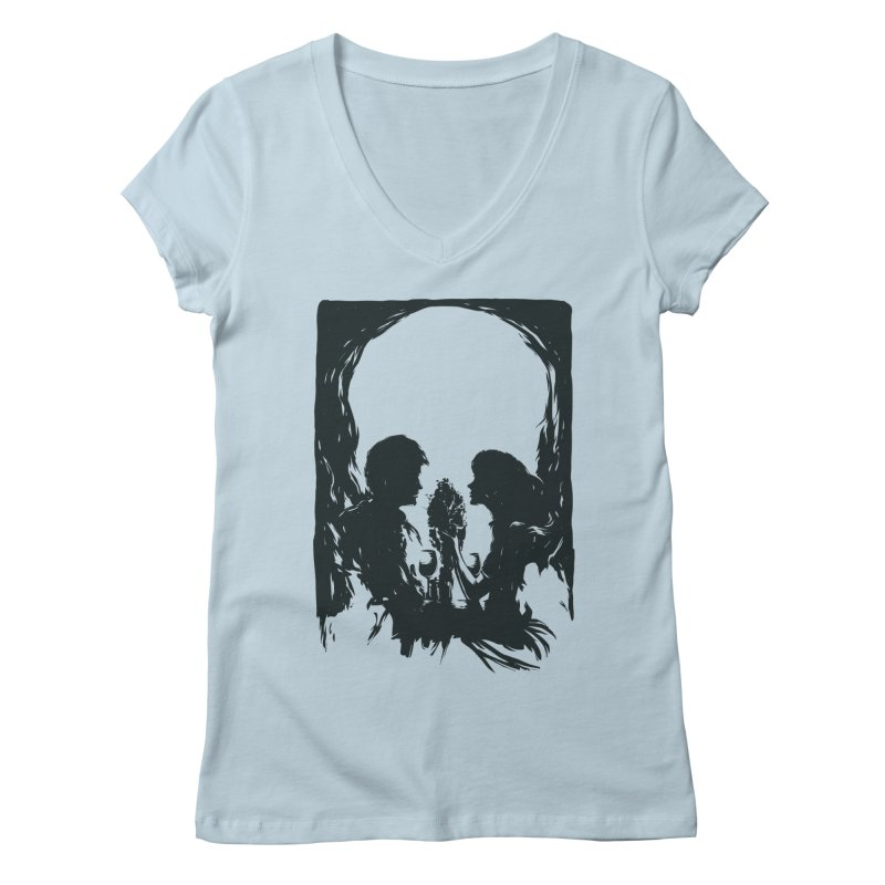'TIL DEATH DO US PART Women's V-Neck by RGRLV