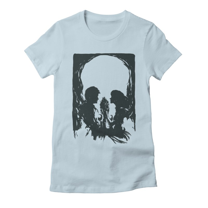 'TIL DEATH DO US PART Women's Fitted T-Shirt by RGRLV